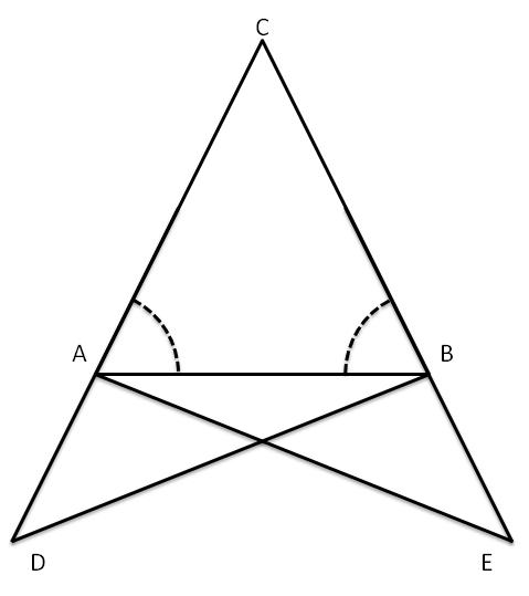 Teoremi Del Triangolo Isoscele Matematica Per Le Superiori 001
